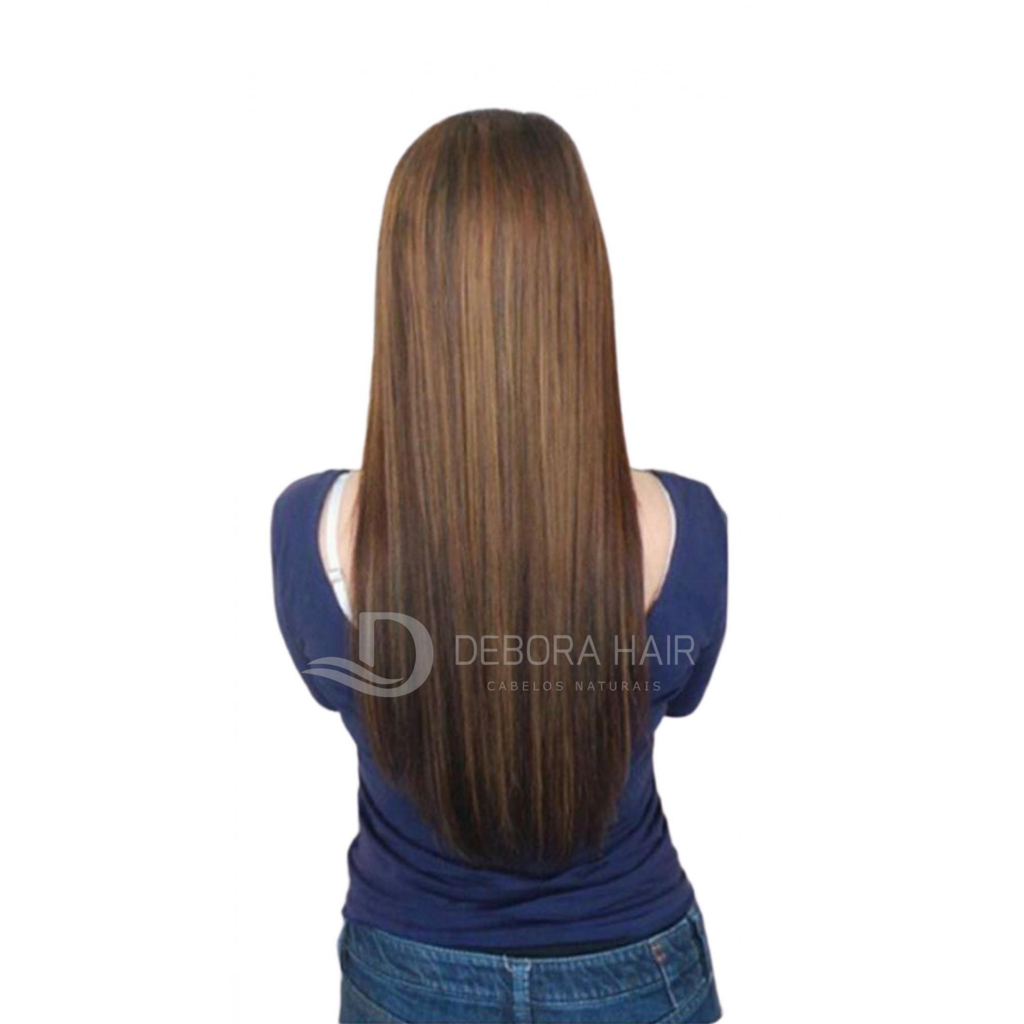 Mega Hair Fita Adesiva 55 cm (SN) N. 1304 20 Peças