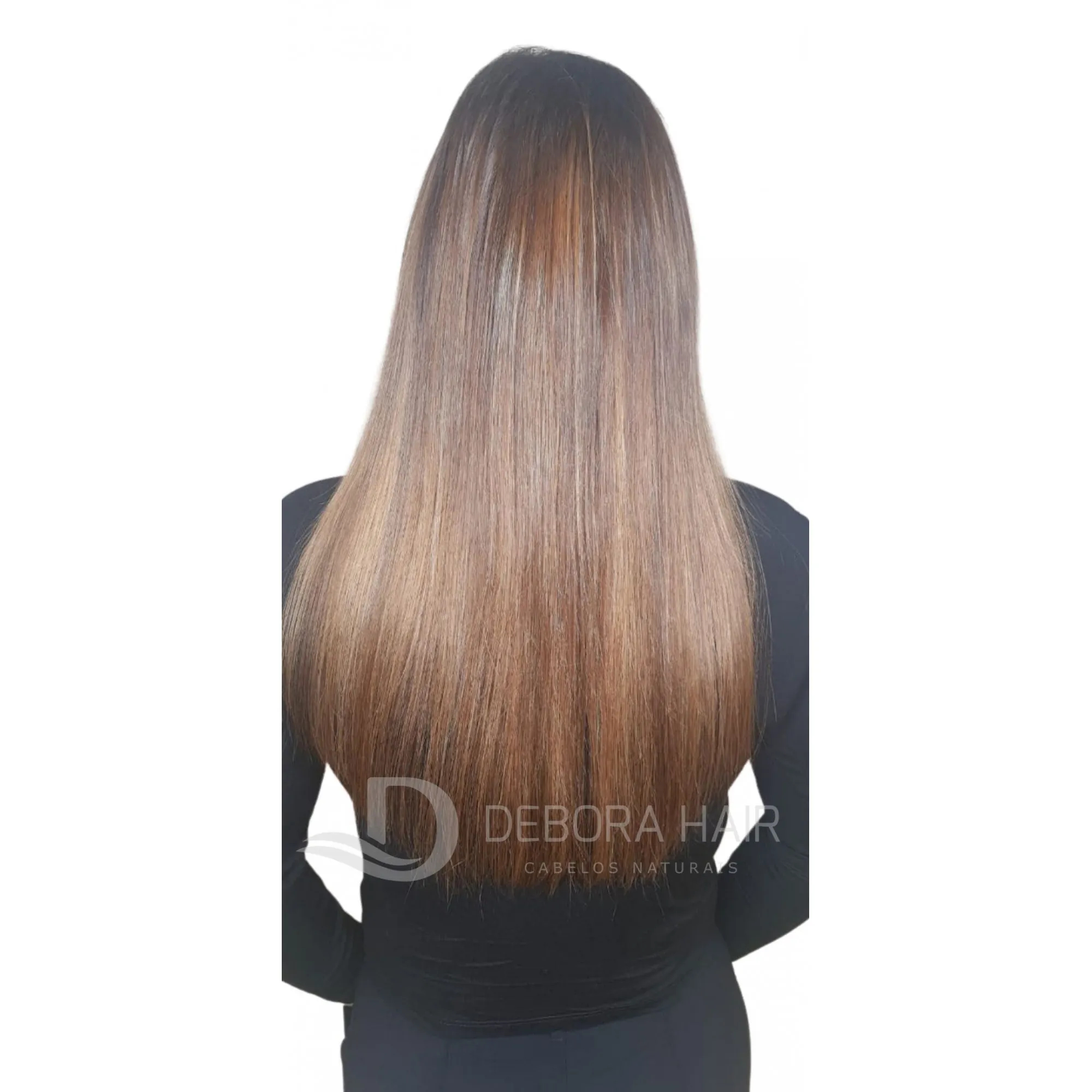 Mega Hair Fita Adesiva 55 cm (SN) N. 1304 20 Peças  - DEBORA HAIR