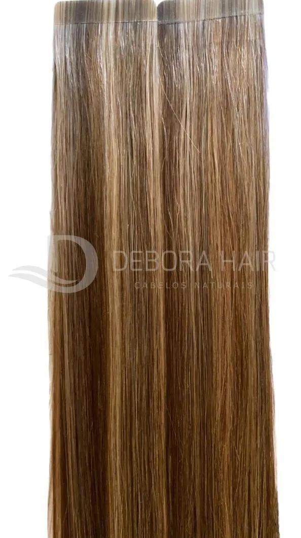 Mega Hair Fita Adesiva 55 cm (SN) N. 1305 20 Peças  - DEBORA HAIR