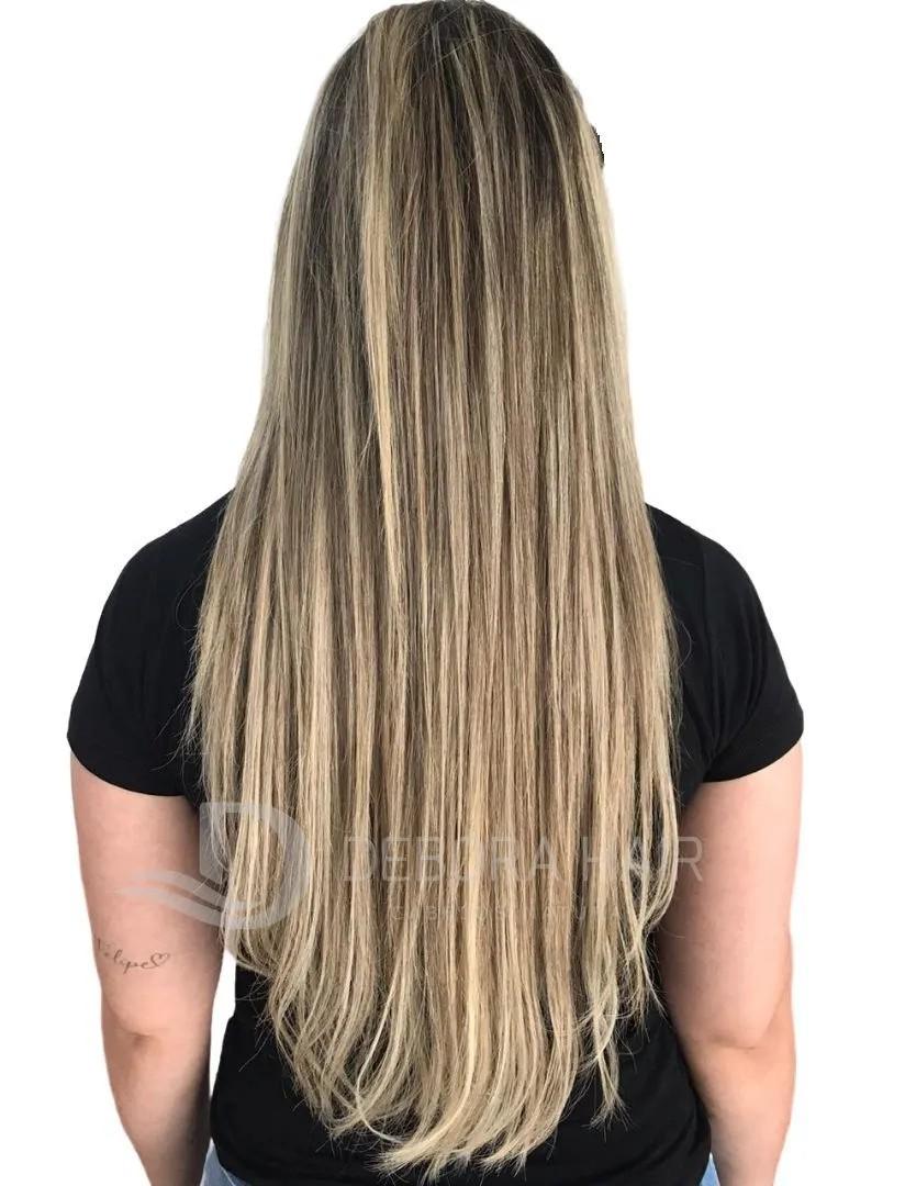 Mega Hair Fita Adesiva Mesclado 60 cm N. 7119A  - DEBORA HAIR