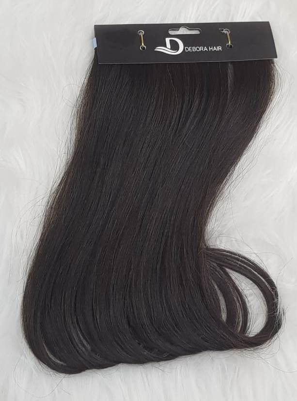 Mega Hair Fita Adesiva Castanho de 70 cm   - DEBORA HAIR