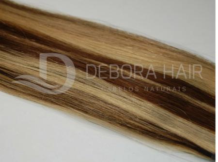 Mega Hair Fita Adesiva Inteiro 45 cm (sn) N. M1303  - DEBORA HAIR