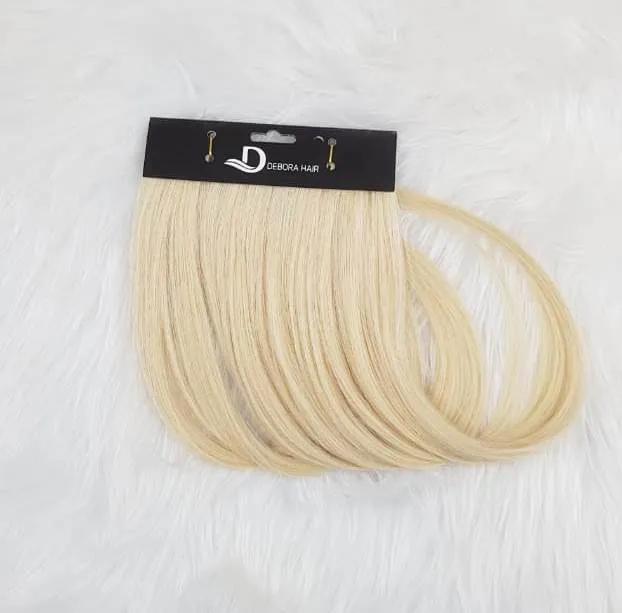 Mega Hair Fita Adesiva Loiro Clarissimo de 70 cm Russo  - DEBORA HAIR