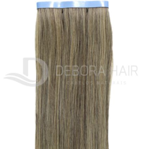 Mega Hair Fita Adesiva Mesclado Com Californianas  N. 1302 70 cm