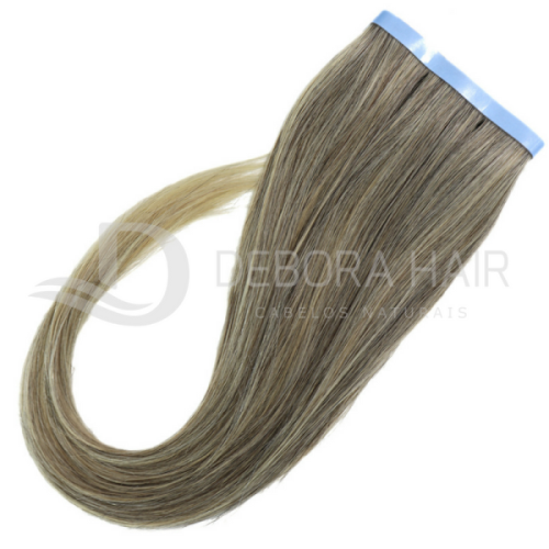 Mega Hair Fita Adesiva Mesclado Com Californianas  N. 1302 70 cm  - DEBORA HAIR