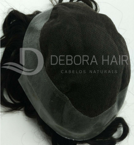 Prótese Capilar de Tela Los Angeles  - DEBORA HAIR