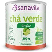 CHÁ VERDE - LIMÃO 200G - SANAVITA
