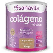 COLÁGENO CAPPUCCINO 300G - SANAVITA