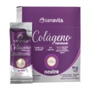 COLÁGENO VERISOL - NEUTRO - 30 SACHÊS - SANAVITA