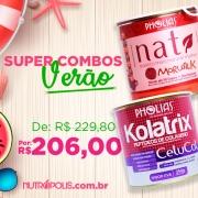 COMBO VERÃO - KOLATRIX CELUCOL (PHOLIAS) + NATI MORUSIL K (PHOLIAS)
