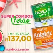 COMBO VERÃO - KOLATRIX VERÃO (PHOLIAS) + BELLA FIBER (PHOLIAS)