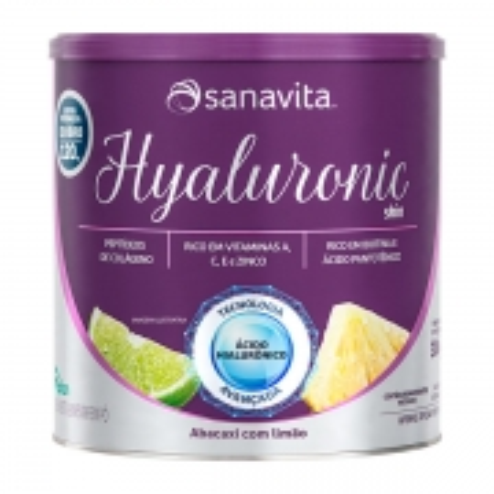 HYALURONIC SKIN 120MG - ABACAXI C/ LIMÃO - 300G - SANAVITA