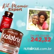 KIT MAMÃE EXPERT - KOLATRIX SENIOR NEUTRO + KRILLA PURE 500MG (PHOLIAS)