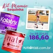 KIT MAMÃE SEQUINHA - KOLATRIX FIBERFIT UVA + NATI MORUSIL K (PHOLIAS)