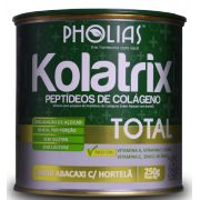 KOLATRIX TOTAL (PEPTÍDEOS BIOATIVOS DE COLÁGENO) ABACAXI COM HORTELÃ 250G - PHOLIAS