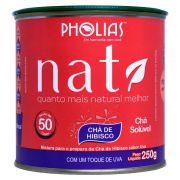 NATI CHÁ DE HIBISCO UVA 250G (50 DOSES)  - PHOLIAS