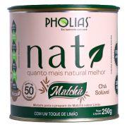 NATI MATCHÁ LIMÃO 250G (50 DOSES) - PHOLIAS