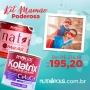 KIT MAMÃE PODEROSA - NATI MORUSIL K + KOLATRIX CELUCOL (PHOLIAS)