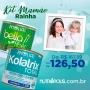 KIT MAMÃE RAINHA - KOLATRIX TOTAL NEUTRO + BELLA FIBER (PHOLIAS)