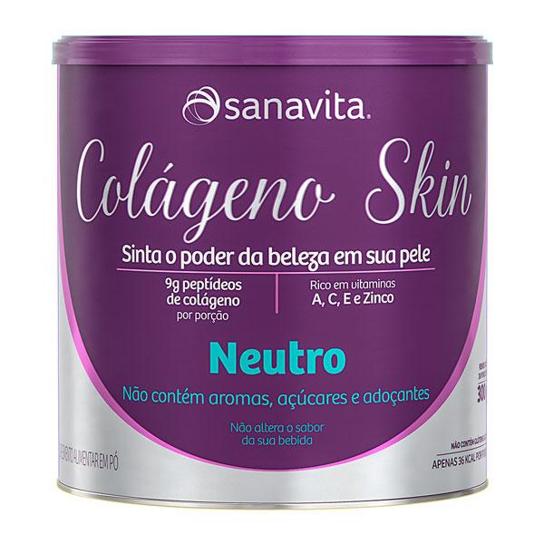 COLÁGENO SKIN NEUTRO - 300G - SANAVITA