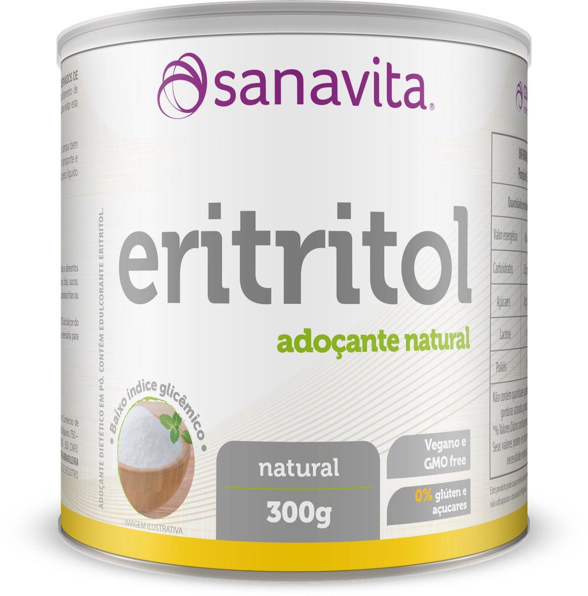 ERITRITOL 300G - SANAVITA