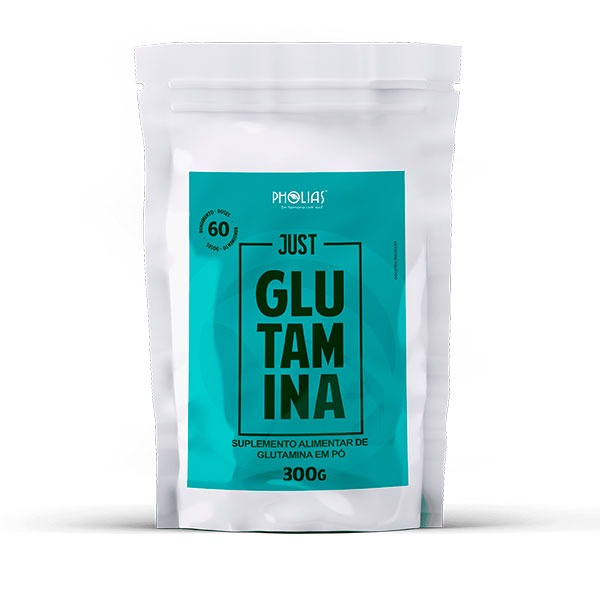JUST GLUTAMINA 300G - PHOLIAS