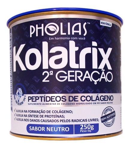 KOLATRIX 2ª GERAÇÃO (PEPTÍDEOS DE COLÁGENO) NEUTRO 250G - PHOLIAS