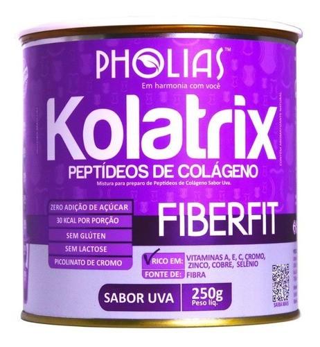 KOLATRIX FIBERFIT (PEPTÍDEOS DE COLÁGENO) UVA 250G - PHOLIAS