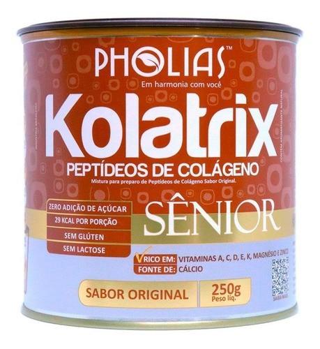 KOLATRIX SENIOR (PEPTÍDEOS DE COLÁGENO) BAUNILHA 250G - PHOLIAS