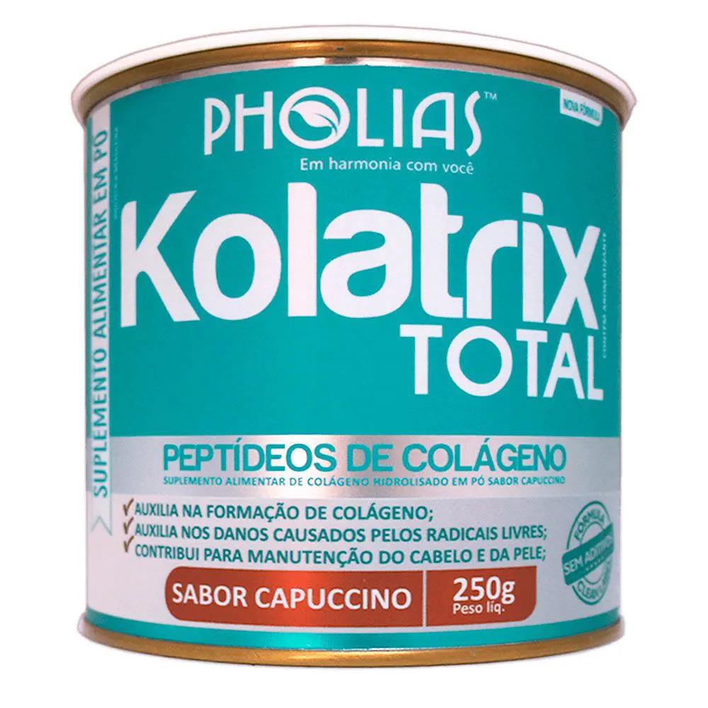 KOLATRIX TOTAL (PEPTÍDEOS BIOATIVOS DE COLÁGENO) CAPUCCINO 250G - PHOLIAS