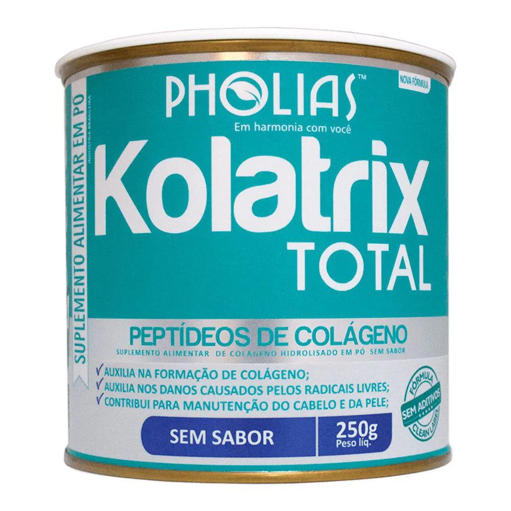 KOLATRIX TOTAL (PEPTÍDEOS BIOATIVOS DE COLÁGENO) SEM SABOR 250G - PHOLIAS