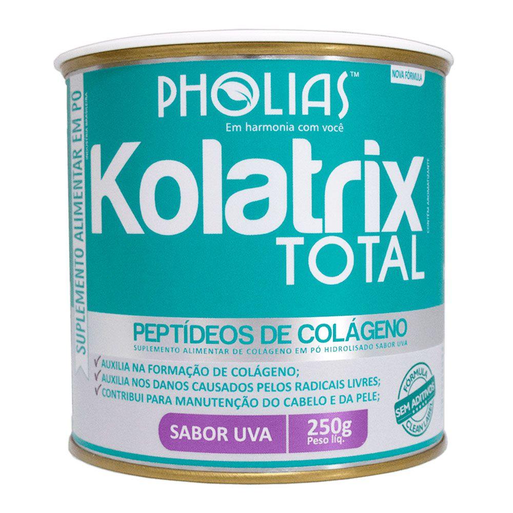 KOLATRIX TOTAL (PEPTÍDEOS BIOATIVOS DE COLÁGENO) UVA 250G - PHOLIAS