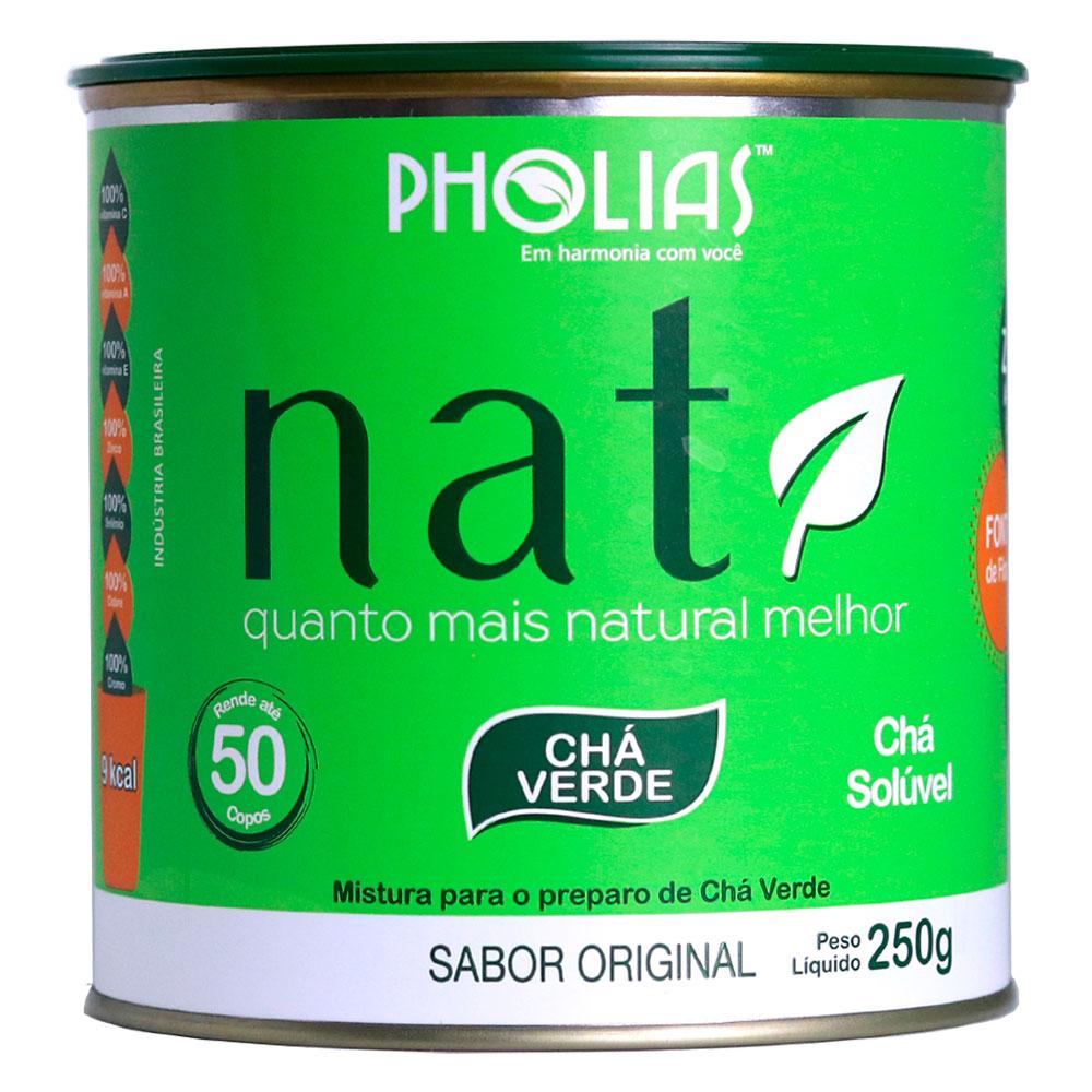NATI CHÁ VERDE SABOR ORIGINAL 250G (50 DOSES)  - PHOLIAS