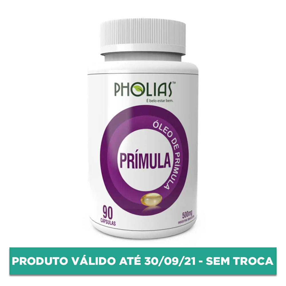 PRÍMULA 500MG 90 CÁPSULAS - PHOLIAS