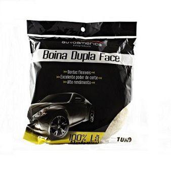 Boina Dupla-face Branca - Auto América