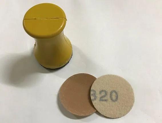 Lixa de 32mm para Taco Pontual - Pacote com 5 lixas