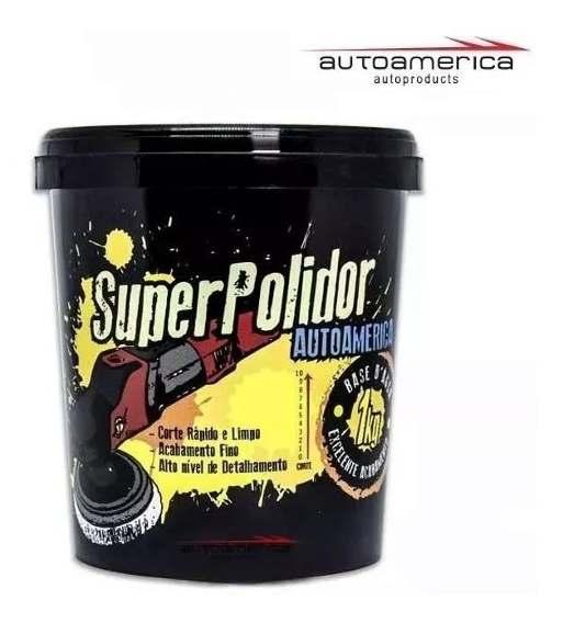 Massa de Polir Super Polidor 1Kg Auto América