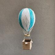 Balão Kiko Tiffany, branco e bege claro