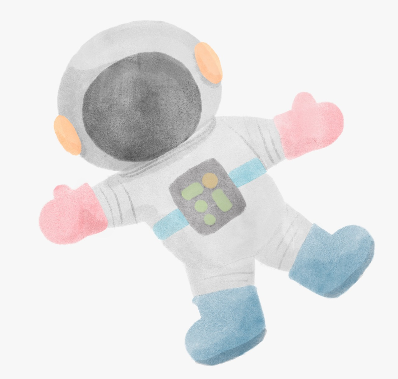 Adesivo Astronauta Gus