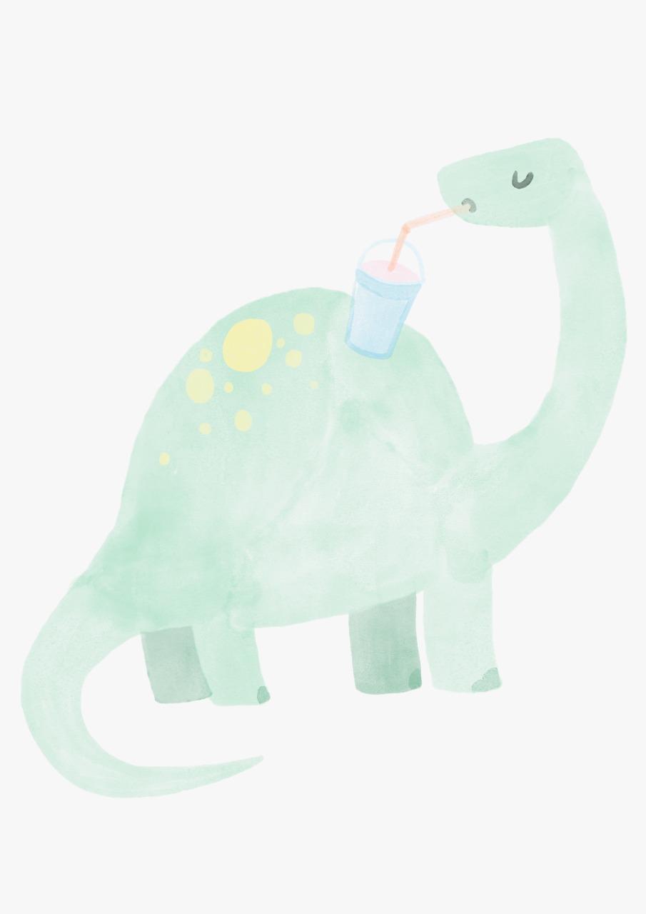 Adesivo Dinossauros Yoni