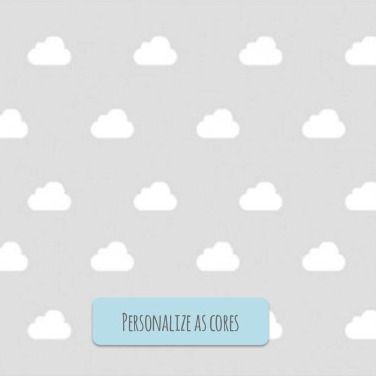 Adesivo Mini Nuvens Rafa