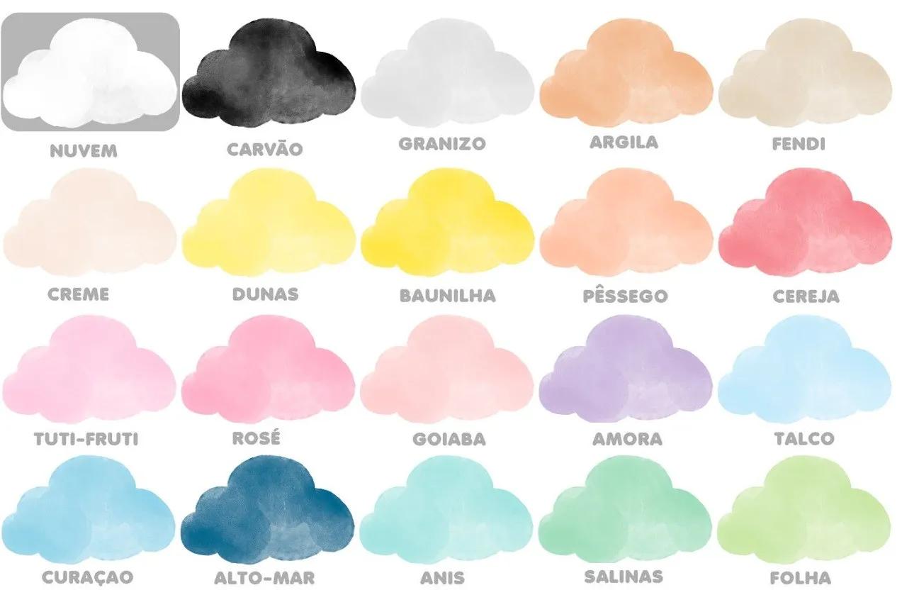 Adesivo Nuvens Aquarela Fred