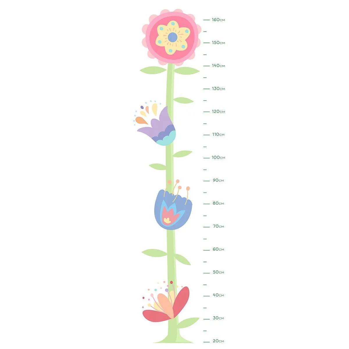 Adesivo Régua Flores Maju