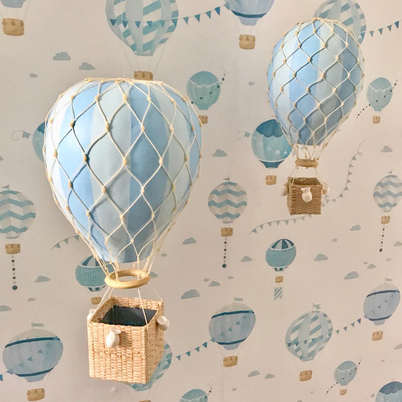 Balão Kiko/Kikinho Azul Listrado