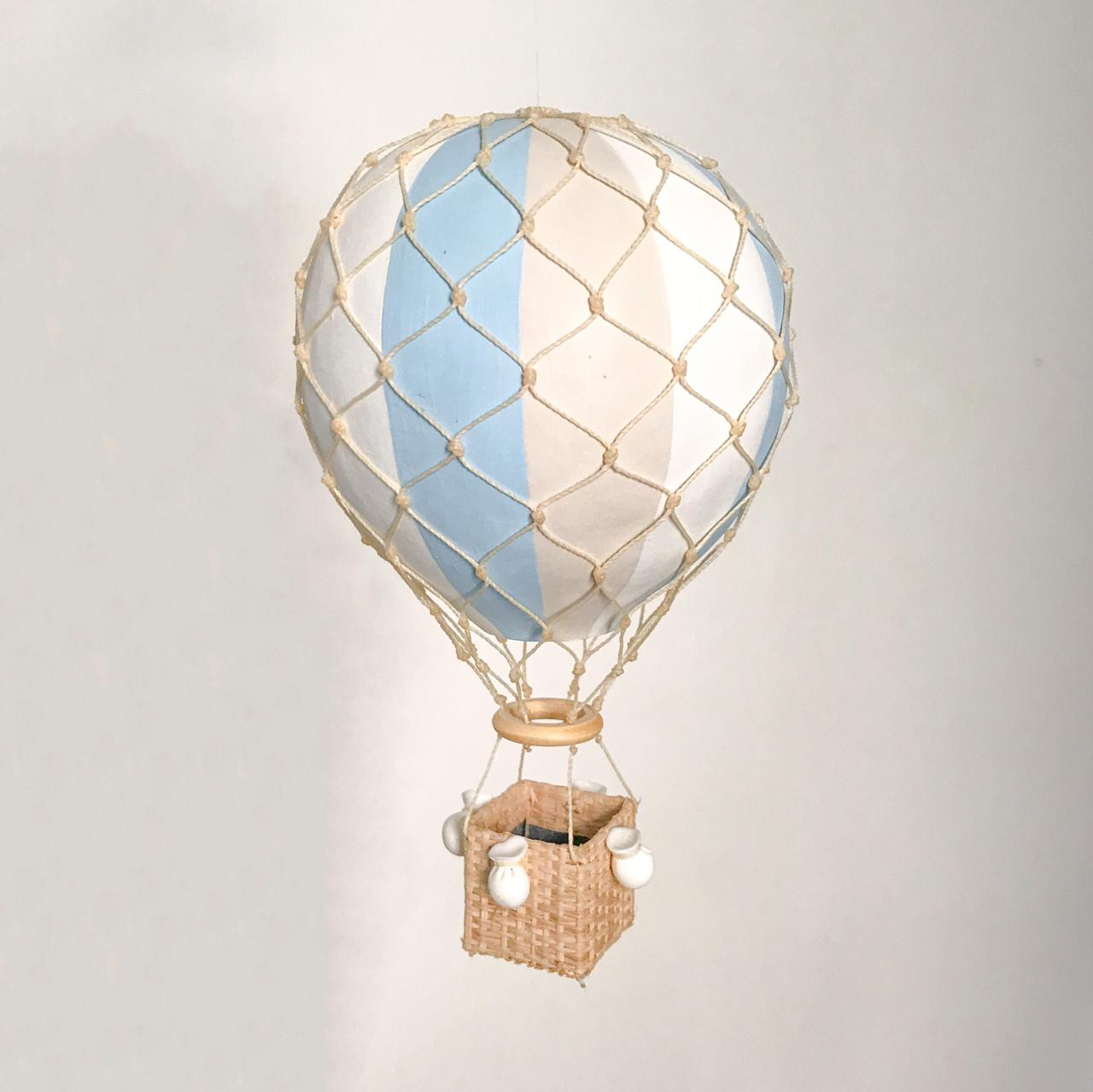 Balão Kiko/Kikinho Azul Pastel