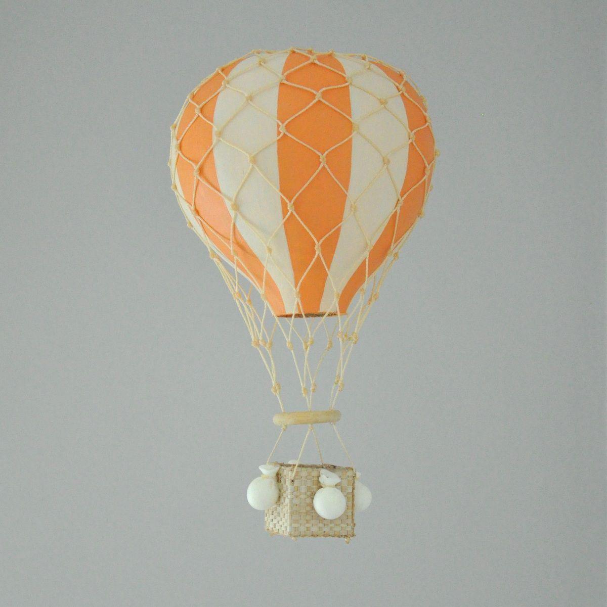 Balão Kiko/Kikinho Laranja Listrado