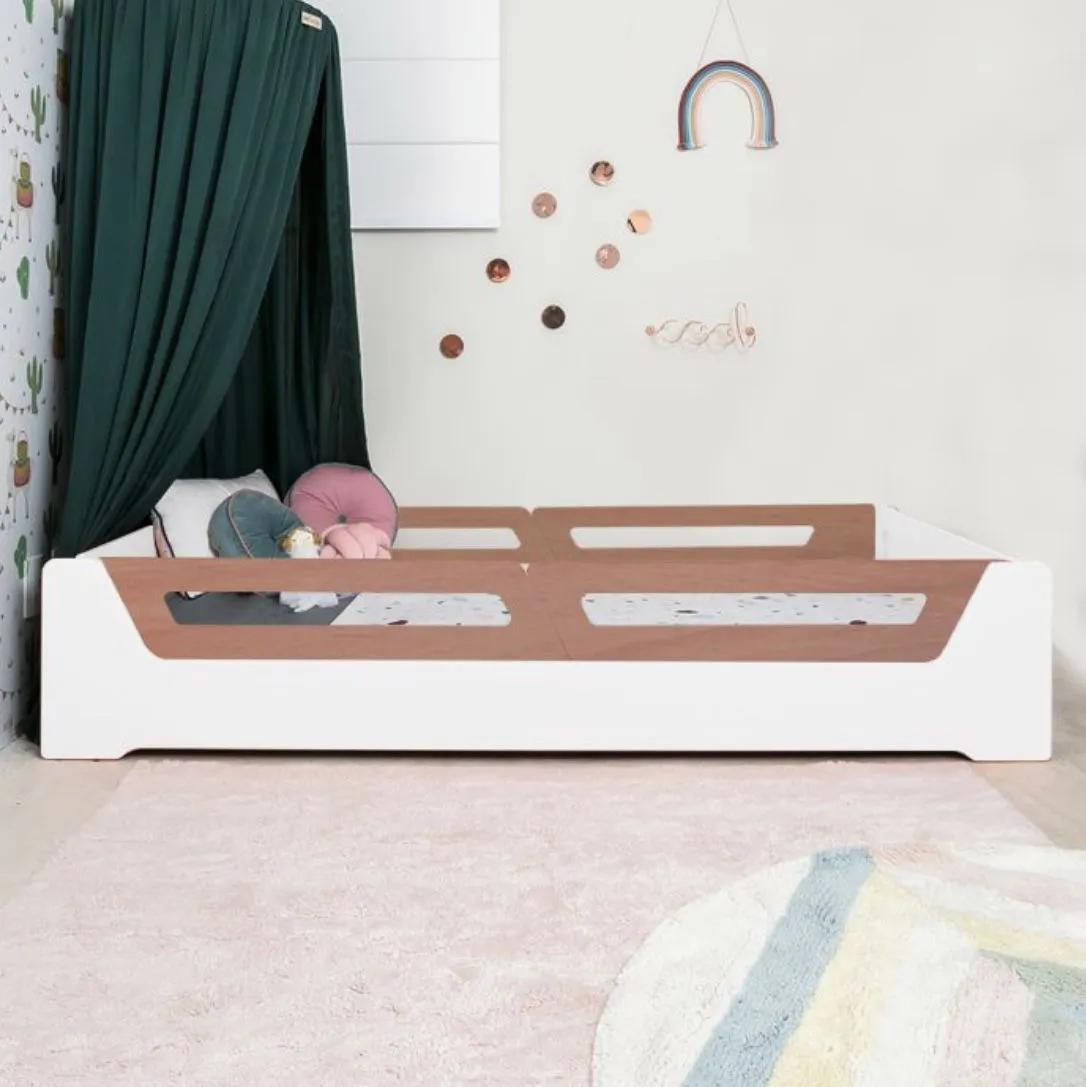 Cama Anis Grades Madeira (solteiro e mini cama)