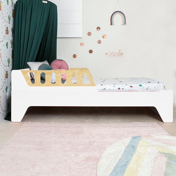 Cama Anis Plus Grades Madeira (solteiro e mini cama)