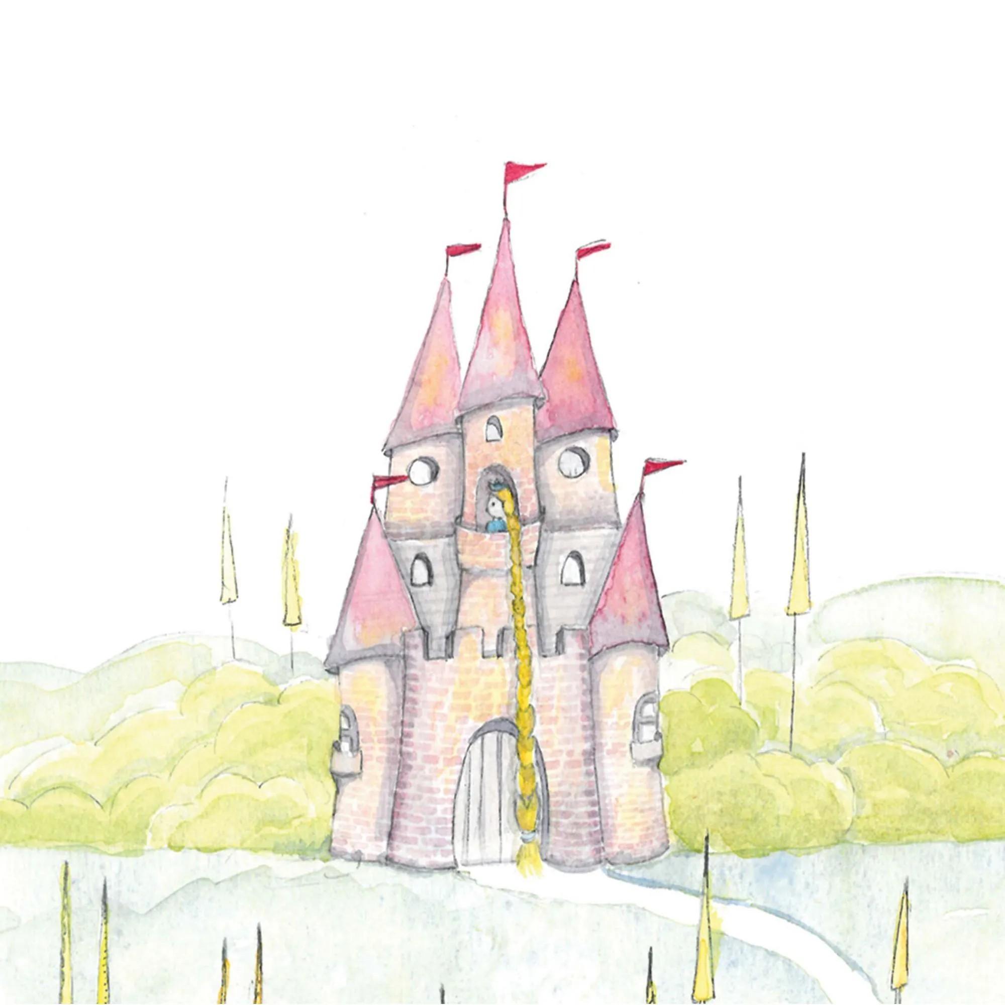Capa para Edredom - Castelo