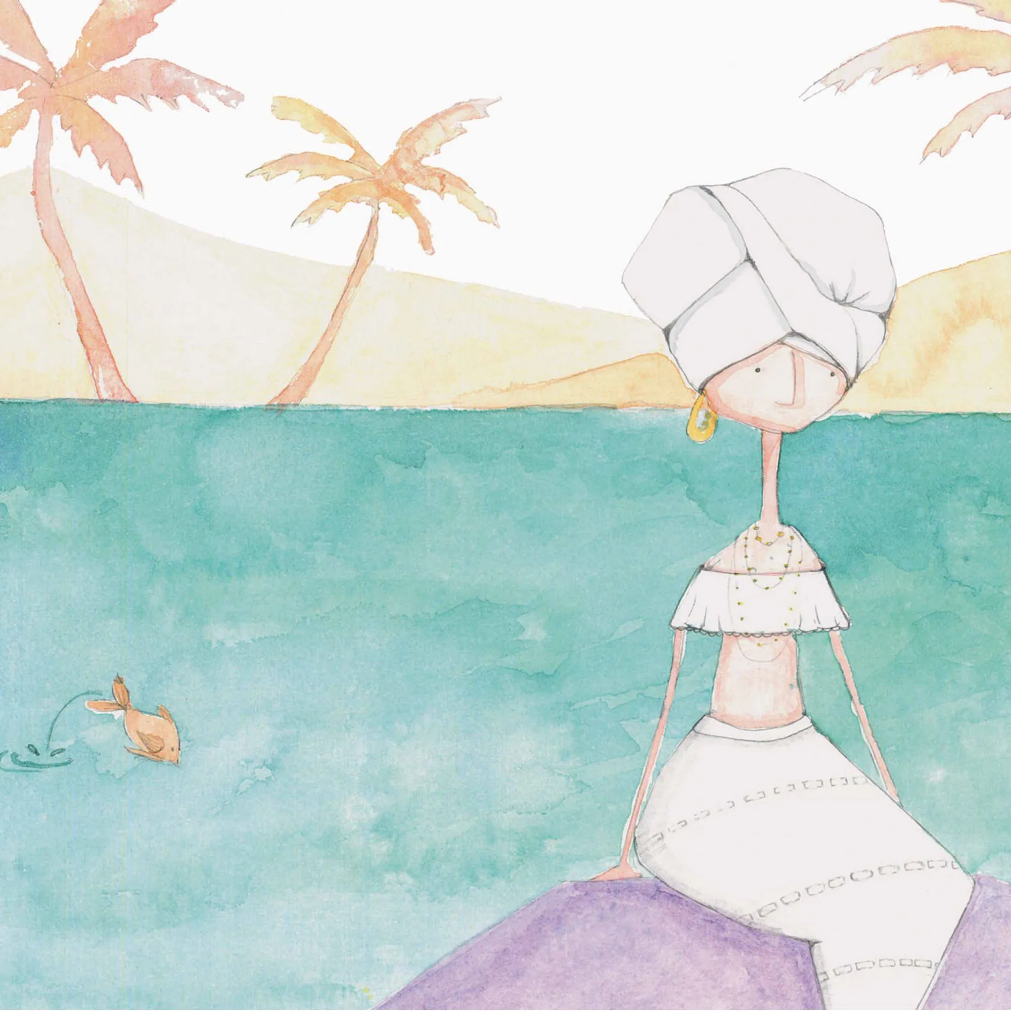 Capa para Edredom - Sereia  - Ideias de Mamãe